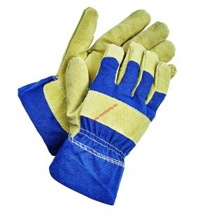 dd94208f65b Zimní rukavice SHAG žlutá modrá - 9