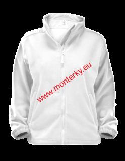 dcb27688df1 Mikina 406 Fleece dámská Jacket Alberta-bílá 00